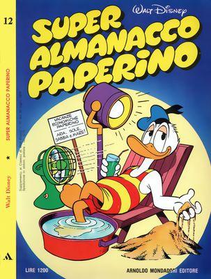 Super Almanacco Paperino N.12 (07/1979)