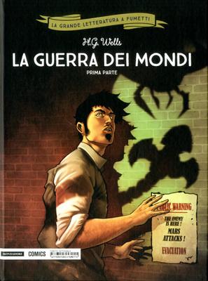 La grande letteratura a fumetti 32 - La guerra dei mondi par