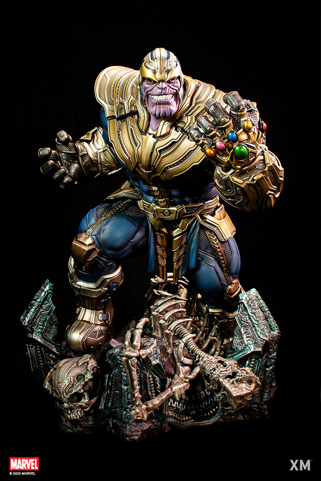 Premium Collectibles : Thanos and Lady Death 01tajd6