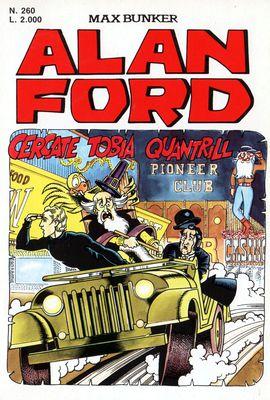 Alan Ford N.260 - Cercate Tobia Quantrill (Febbraio 1991)