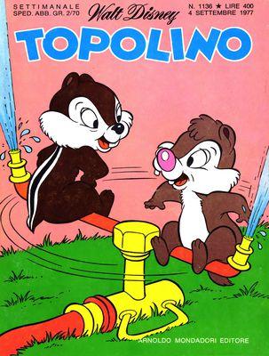 Topolino 1136 - Topolino e la mortifera pioggia verde (09/1977)