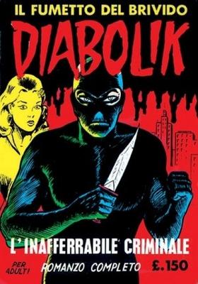 Diabolik N.002 - Prima serie - L'inafferrabile criminale (Astorina 02-1963)