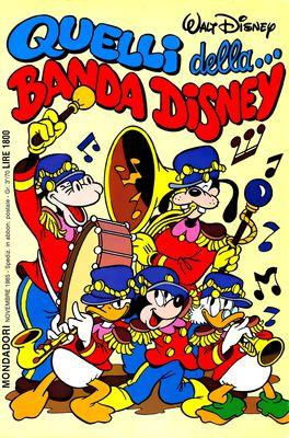 I classici di Walt Disney II serie 107 - Quelli della...Banda Disney (1985-11)