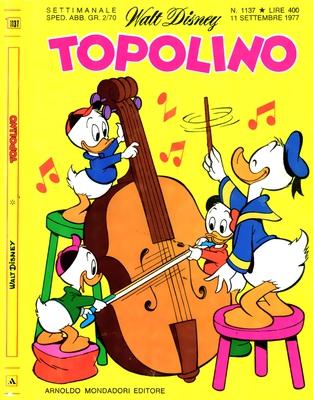 Topolino 1137 - Zio Paperone e la nuova glaciazione (09/1977)