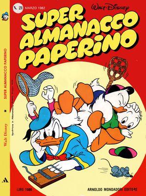 Super Almanacco Paperino 21 Serie II (03/1982)
