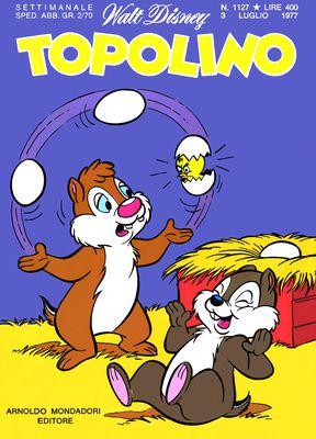 Topolino 1127 - Zio Paperone e il tapioca di Machu Picchu (07/1977)