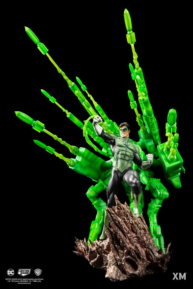 Premium Collectibles : JLA Green Lantern 1/6**   026qk8i