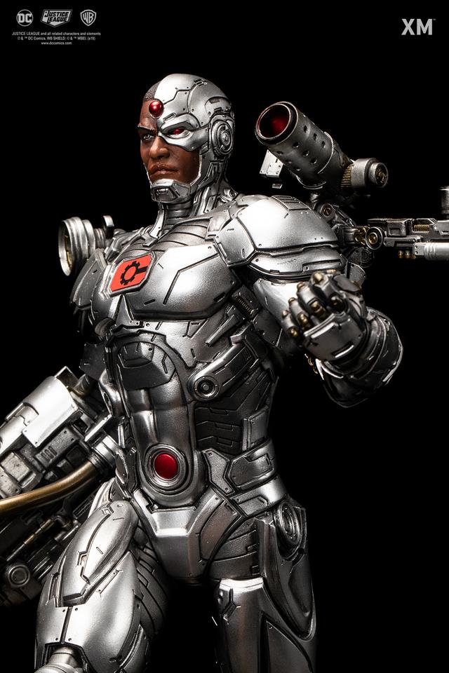 Premium Collectibles : JLA Cyborg 1/6**   027ekpv