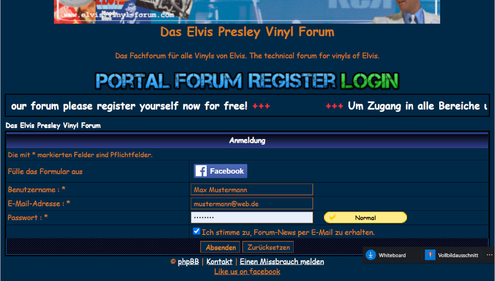 Im Forum Registrieren (Register in the forum) 031kjw7