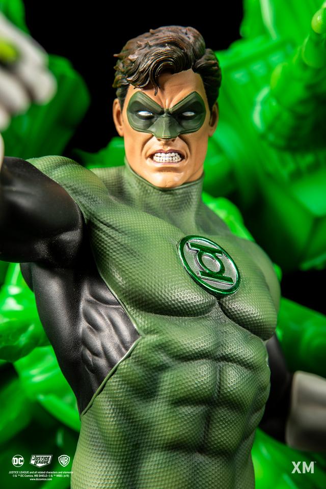 Premium Collectibles : JLA Green Lantern 1/6**   03a6njho