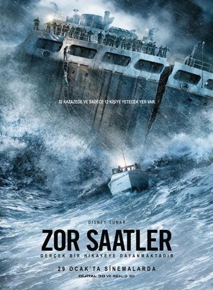 Zor Saatler – The Finest Hours 2016 (Türkçe Dublaj) BRRip XviD