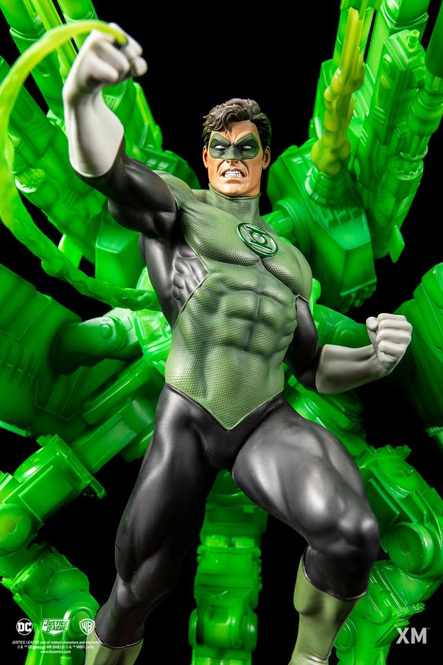 Premium Collectibles : JLA Green Lantern 1/6**   03sfjxr