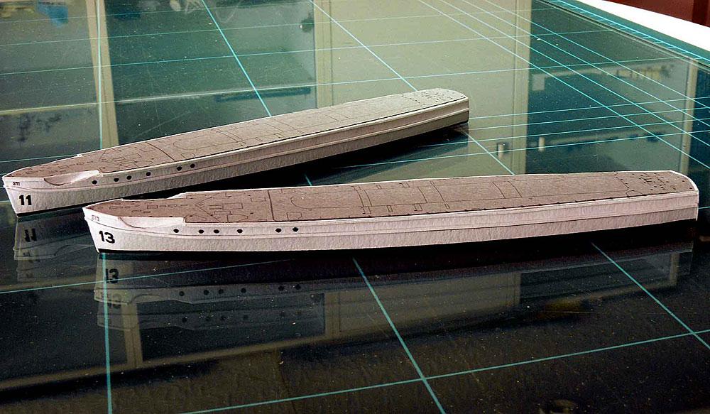 Schnellboote Série S7-S13 de la Reichsmarine 1:250 04-rumpf-kompletty7jgl