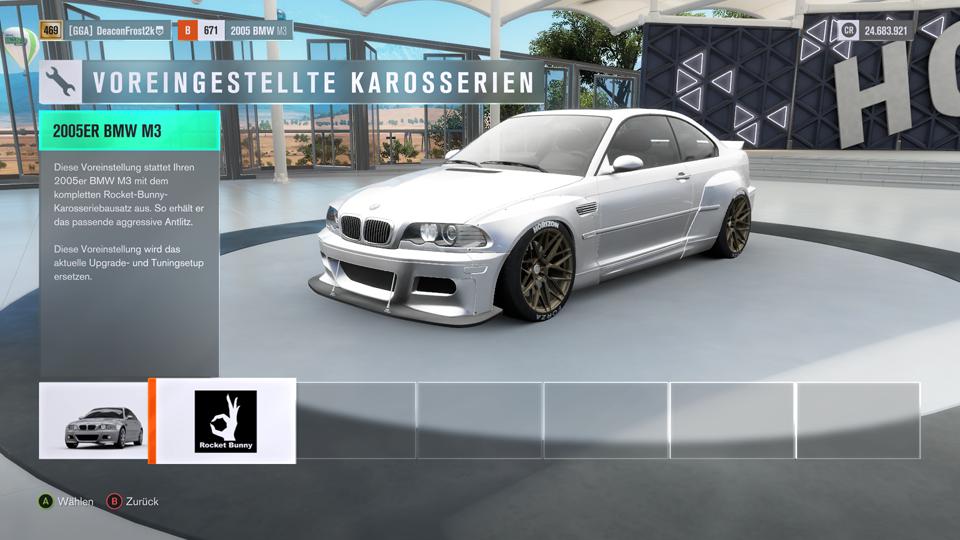 Forzathon feeling spoiled challenge in forza horizon 3 for Garage bmw horizon