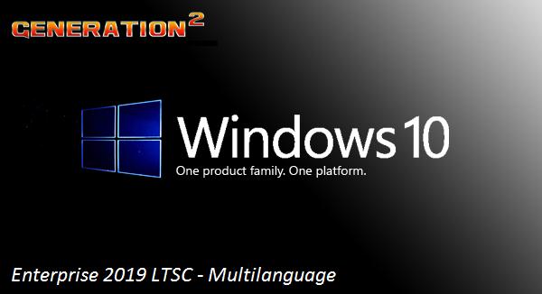 Windows 10 Enterprise Ltsc x64  2019