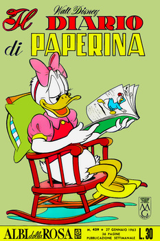 Albi della rosa 429 - Il diario di Paperina (1963-01-27)