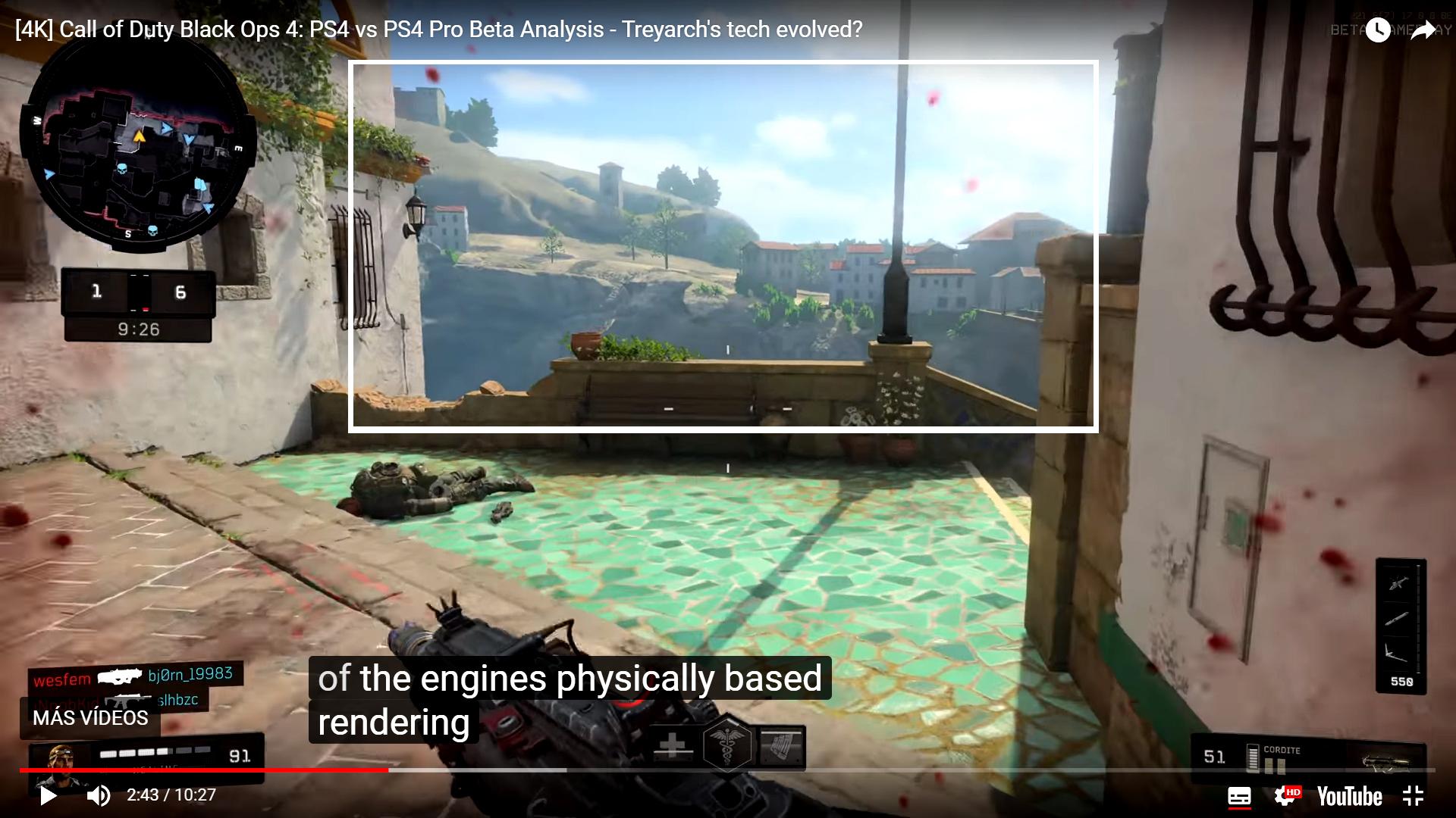 Digital Foundry: Black Ops 4: PS4 vs Pro Beta Analysis