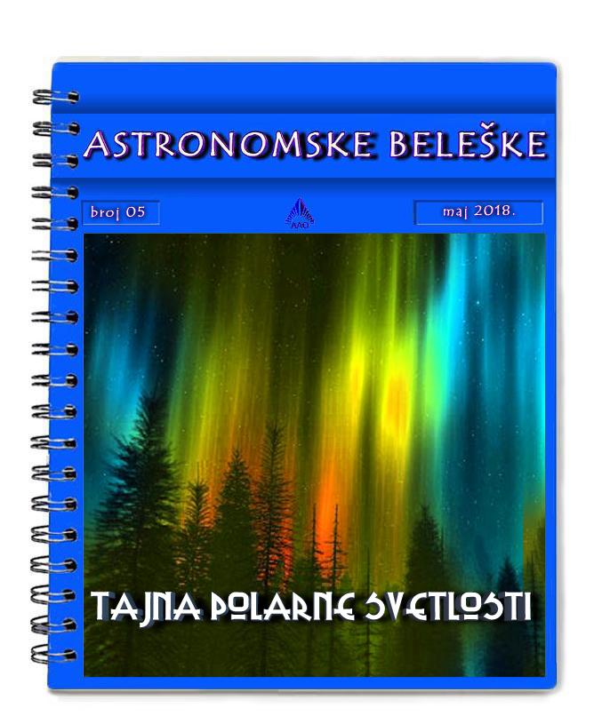 ASTRONOMSKE BELESKE BROJ 5 057psmy