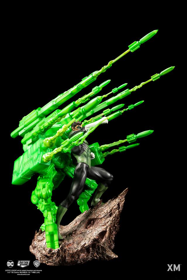 Premium Collectibles : JLA Green Lantern 1/6**   05g9kjw
