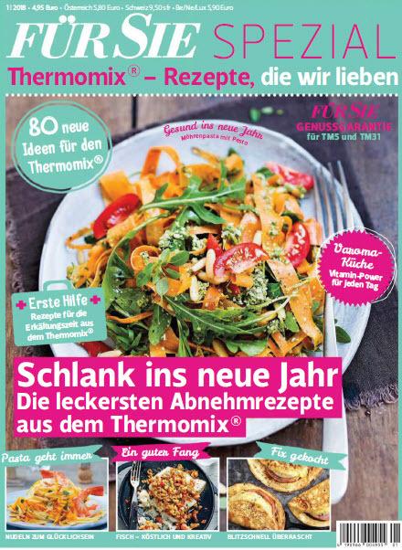 :  Für Sie Spezial Magazin Lieblingsrezepte für Thermomix No 01 2018