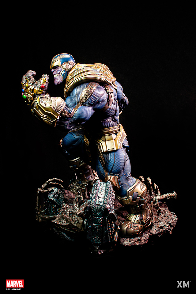 Premium Collectibles : Thanos (Stand alone) 0658krp