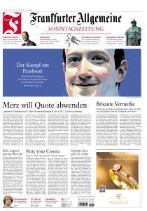 Frankfurter Allgemeine Sonntags Zeitung vom 12 Juli 2020