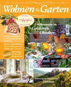 Wohnen und Garten Magazin Oktober No 10 2020