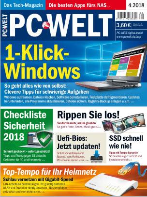 :  PC Welt Magazin April No 04 2018
