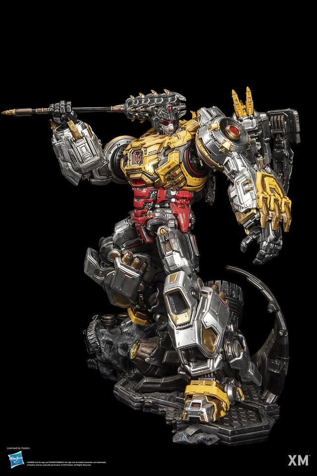 Premium Collectibles : Transformers - Grimlock (G1) 09ogkfo