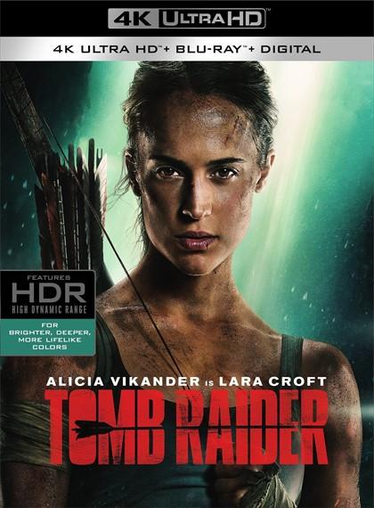 Tomb Raider | 2018 | 2160p MicroHD 4K UltraHD HDR BluRay x265-AC3 | Türkçe Dil Seçenekli - DUAL (TR-EN)