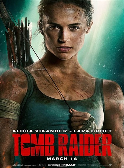 Tomb Raider - 2018 - HDRip - Türkçe Altyazı