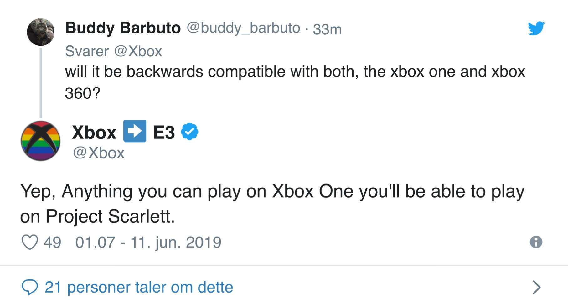 Xbox One bagudkompatibilitet