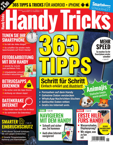 : Smartphone Magazin Sonderheft Handy Tricks Februar-April No 01 2018