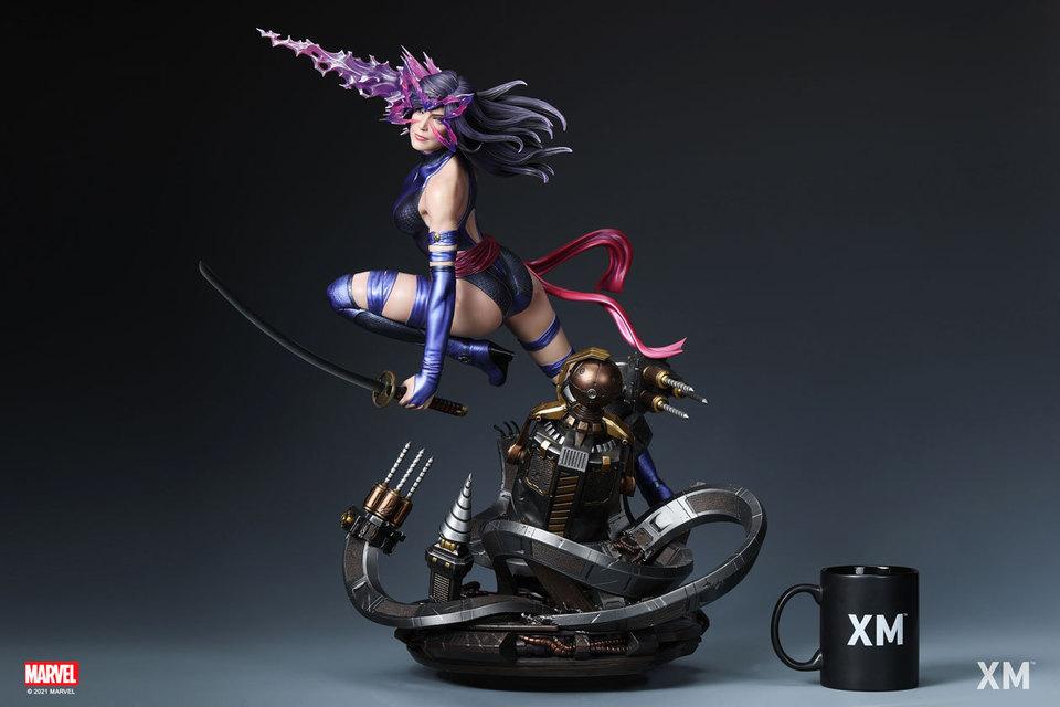 Premium Collectibles : Psylocke 1/4 Statue 0rzksa