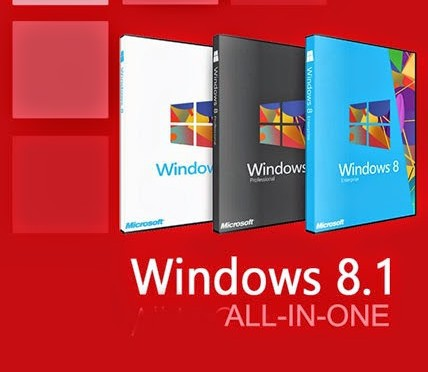 Windows 8.1 AIO 14in1 Türkçe MART 2017
