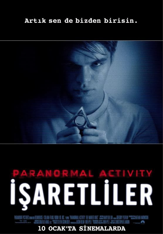 Paranormal Activity İşaretliler Film İndir