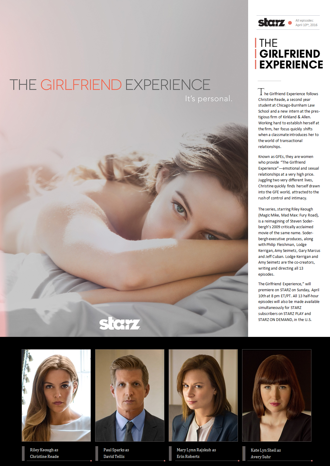 The Girlfriend Experience Book