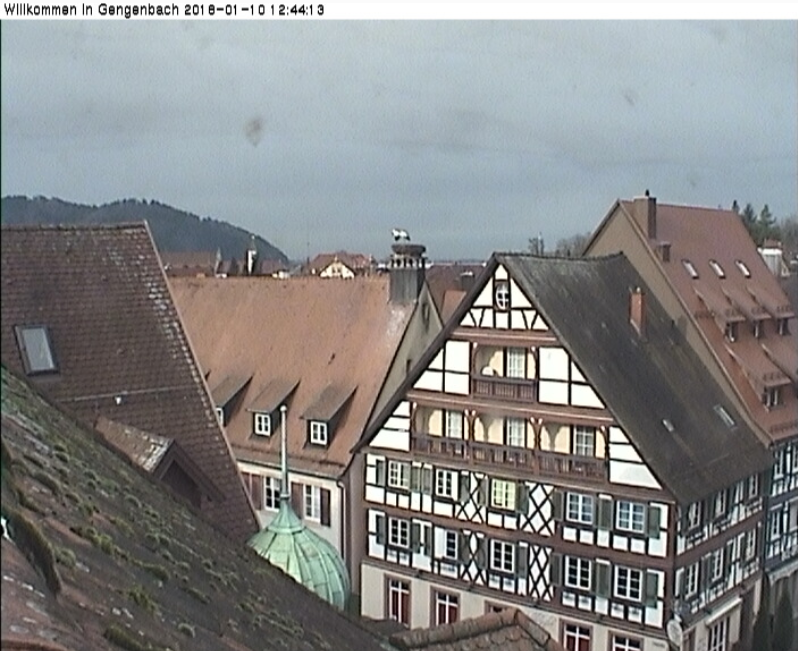 Gengenbach webcam