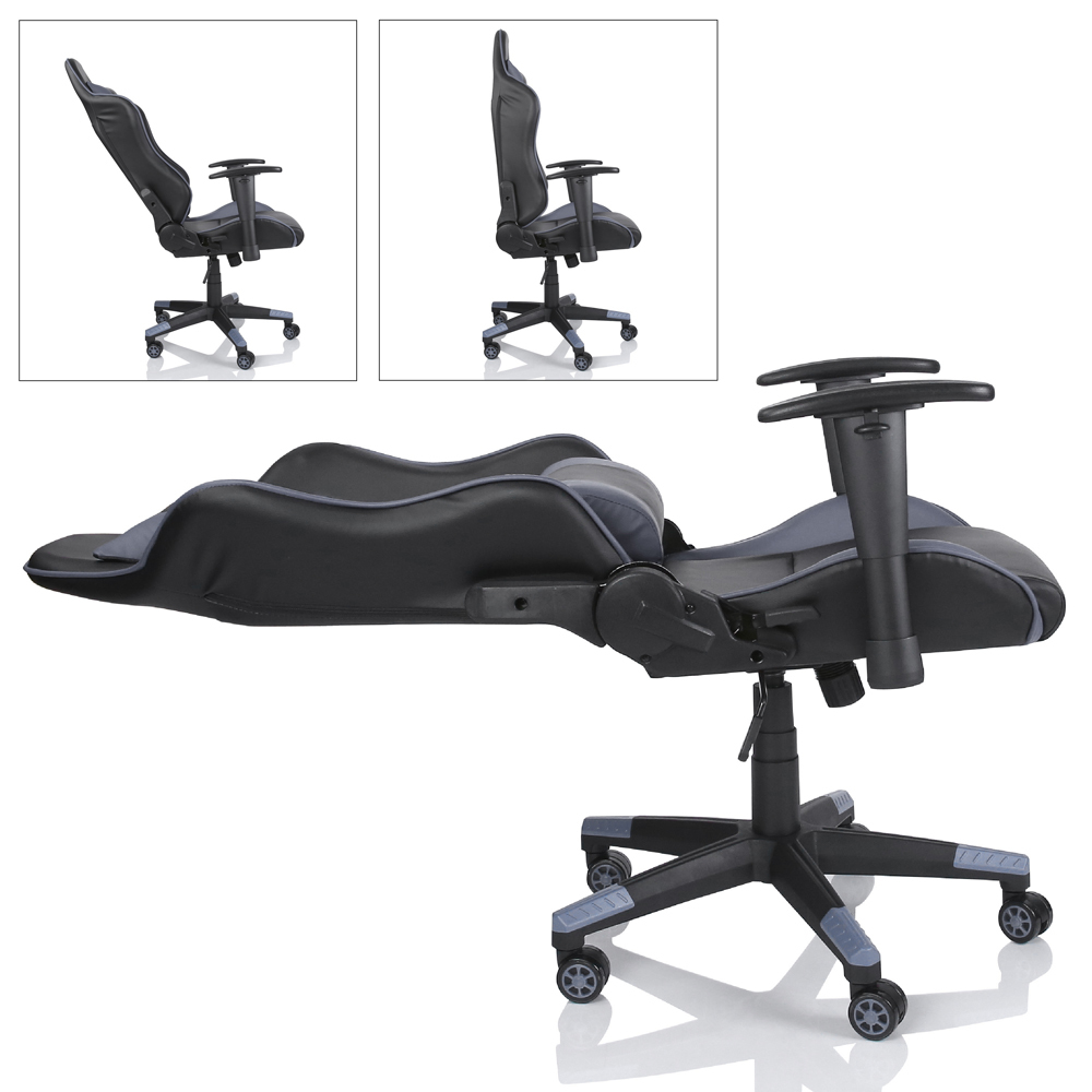 racing chefsessel b rostuhl drehstuhl sportsitz b rosessel schreibtischstuhl. Black Bedroom Furniture Sets. Home Design Ideas