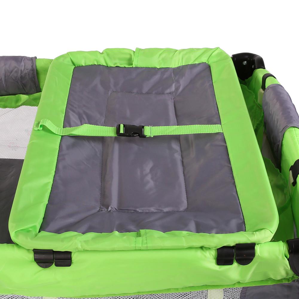 babybett baby reisebett kinderreisebett kinderbett klappbett laufstall gr n ebay. Black Bedroom Furniture Sets. Home Design Ideas