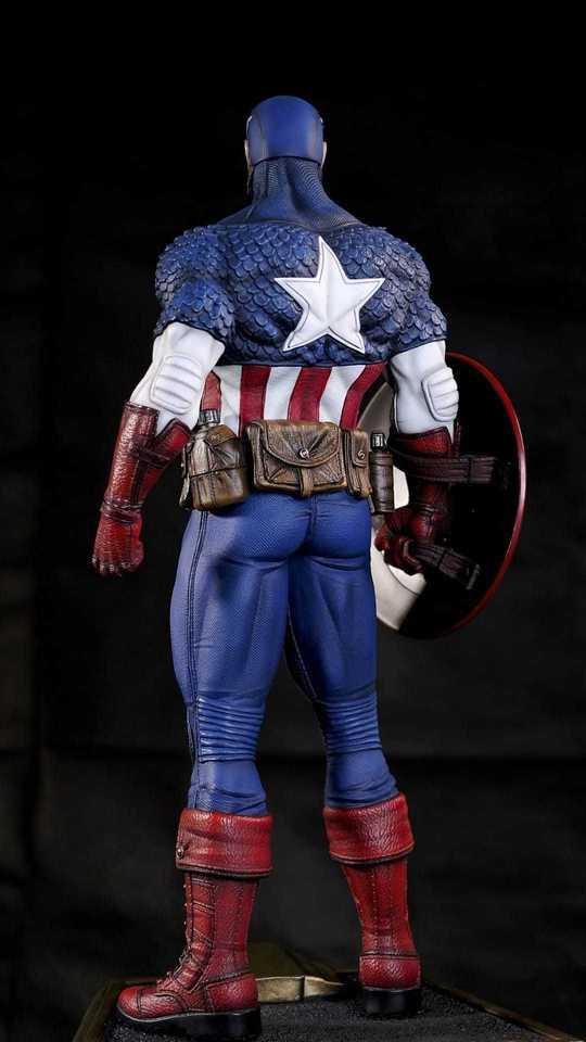 Premium Collectibles : Captain America 1/3 100696907_91517621890nkj0w