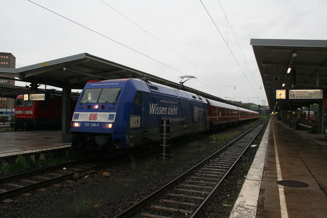 101 136-0 Abscheid vom aller letzen InterRegion Berlin-Lichtenberg