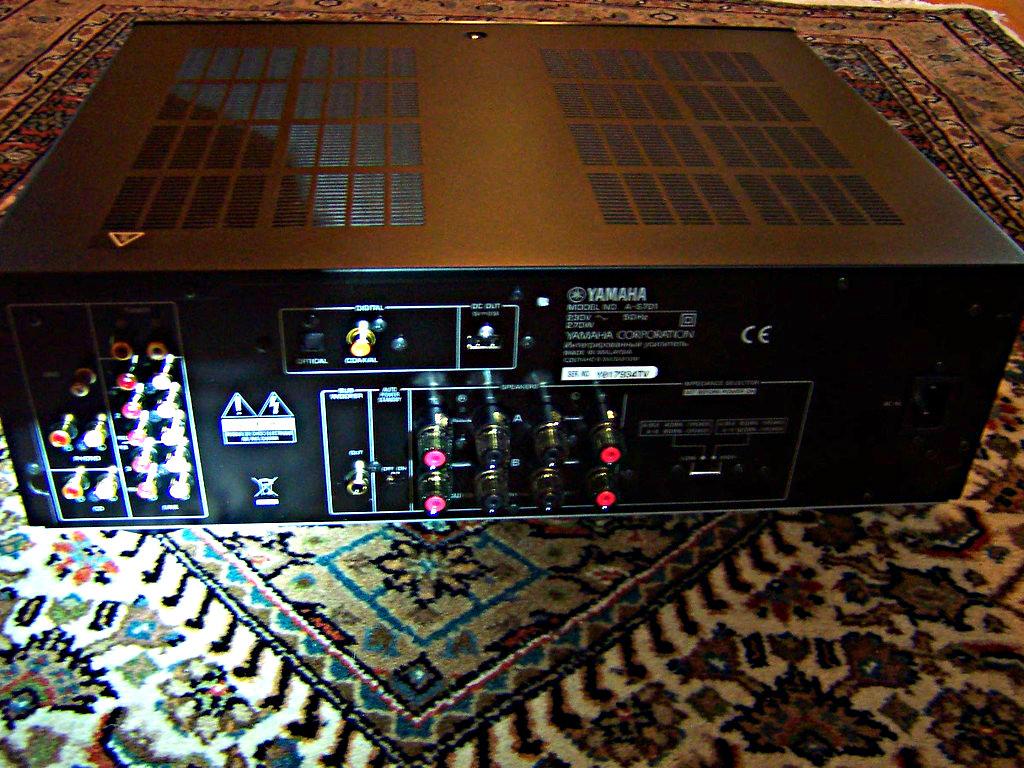 Kellerkind-Audioforum - Luxusdampfer Yamaha AS 701