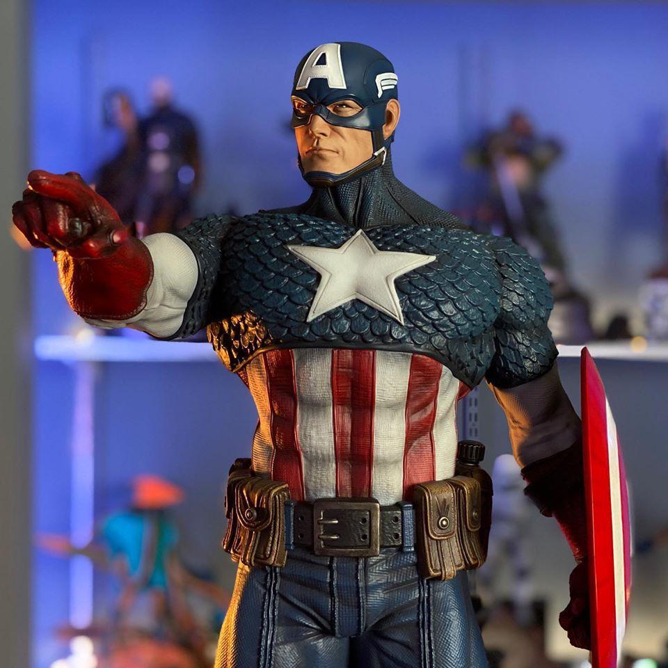 Premium Collectibles : Captain America 1/3 102374230_101573428362bktv