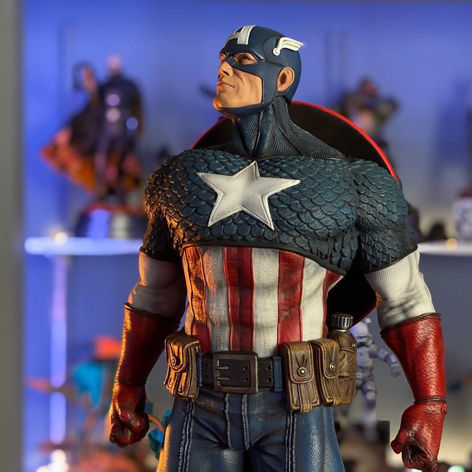 Premium Collectibles : Captain America 1/3 102933479_101573428368pk72