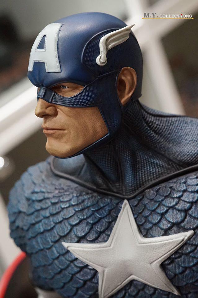 Premium Collectibles : Captain America 1/3 103261565_400974678907wjm6