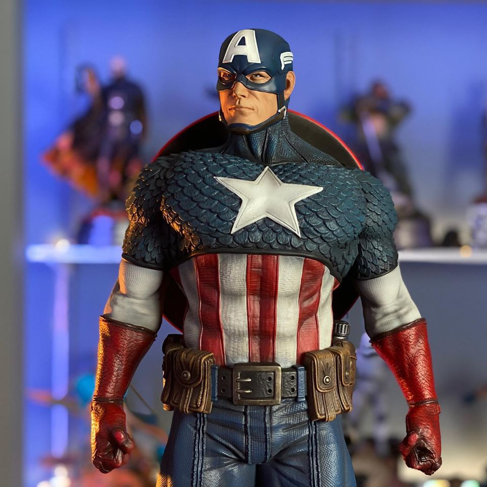Premium Collectibles : Captain America 1/3 103402342_10157342836z2kqa