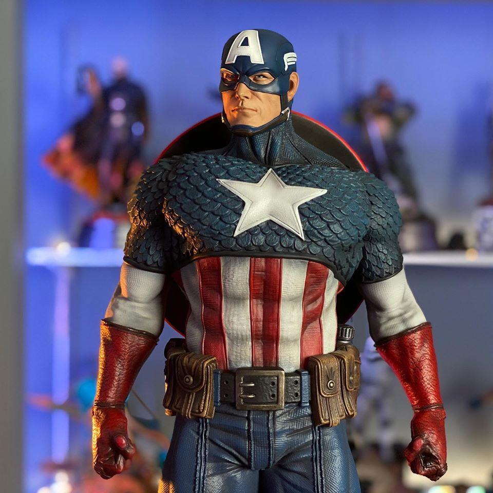 Premium Collectibles : Captain America 1/3 103402342_10157342836z2kqa