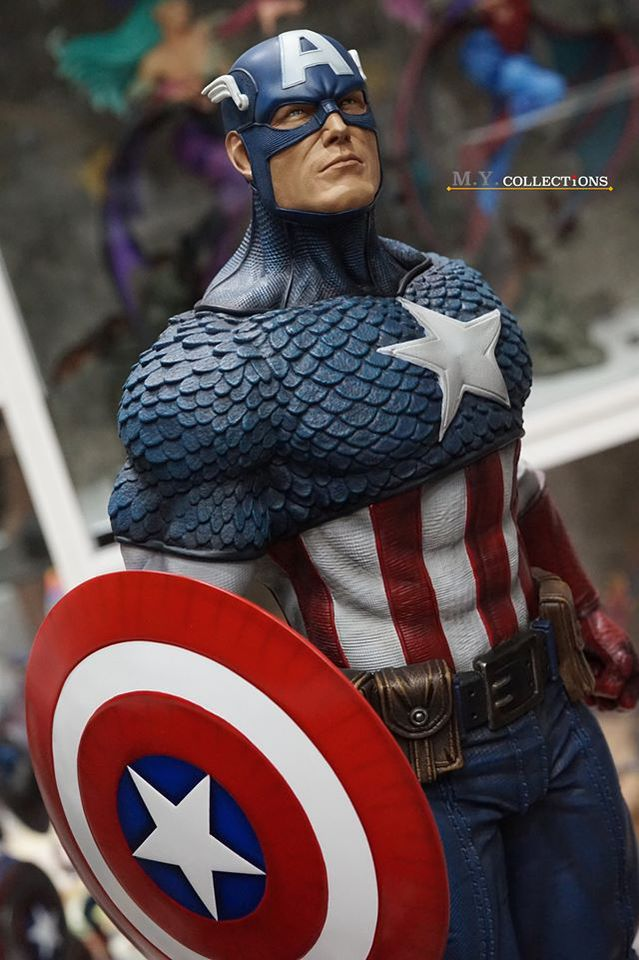 Premium Collectibles : Captain America 1/3 103452560_400974840902zk26