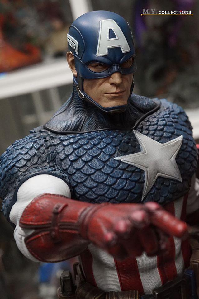 Premium Collectibles : Captain America 1/3 103556208_40097482324btkok